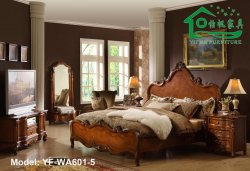 1280x720 px) House Design Picture : Antique Wooden Bedroom