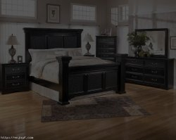 Bedroom Designs: Magnificent Black Bedroom Furniture Floral Carpet