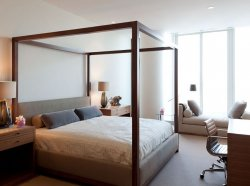 Luxury Penthouse Apartment (Photo 22) Bedroom with Unique Bedroom