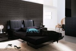 Modern bedroom wallpaper -