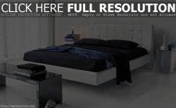 Modern leather bedroom furniture home furniture design ideas