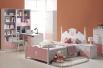 Luxurious Girls Bedroom Furniture with White Bed: Orange Children Bedroom Interior Girls Bedroom Furniture Small White Bunk ~ rugdots.com Bedroom Designs Inspiration