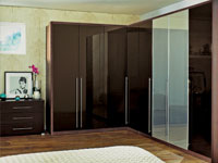Oak double frames and oak plain and panelled doors