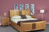 Hudson Oak Bedroom Furniture